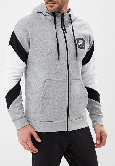 Купить Толстовка Nike - цвет: серый, Камбоджа, NI464EMBWIA8
