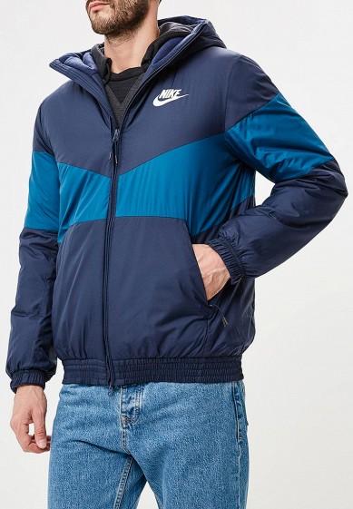 Купить Куртка утепленная Nike - цвет: синий, Вьетнам, NI464EMBWIE9