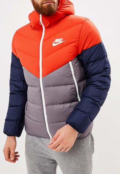 Купить Пуховик Nike - цвет: серый, Китай, NI464EMBWIP8