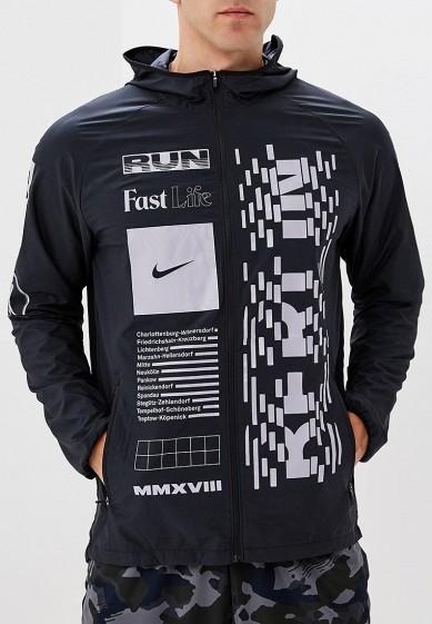 Купить Ветровка Nike - цвет: черный, Вьетнам, NI464EMBWIS2