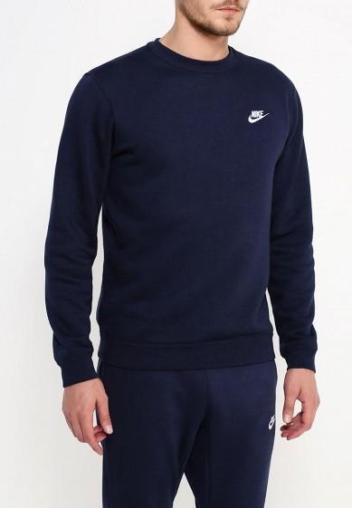 Купить Свитшот Nike - цвет: синий, Пакистан, NI464EMJFP11