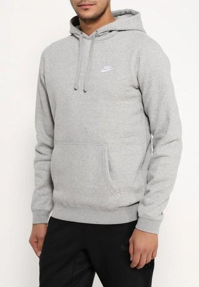 Купить Худи Nike - цвет: серый, Пакистан, NI464EMJFP14
