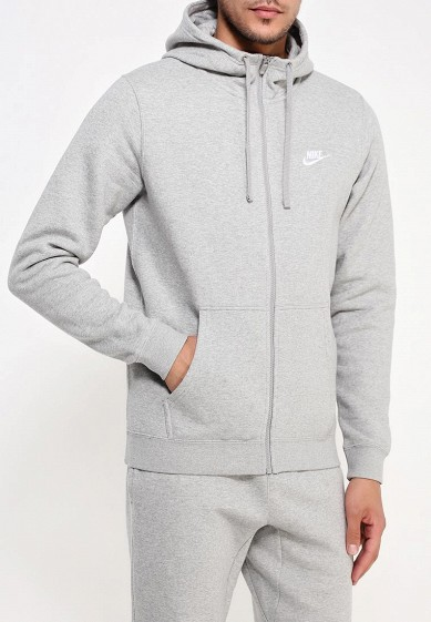 Купить Толстовка Nike - цвет: серый, Пакистан, NI464EMJFP18