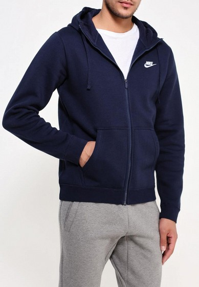 Купить Толстовка Nike - цвет: синий, Пакистан, NI464EMJFP20