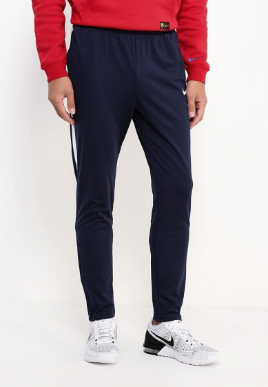 Купить Брюки спортивные Nike - цвет: синий, Таиланд, NI464EMJFV63