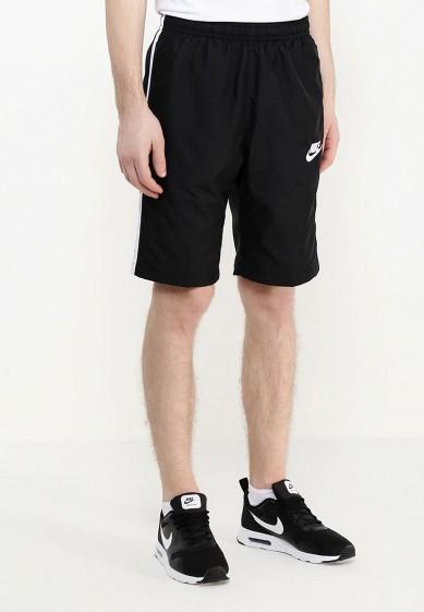Купить Шорты спортивные Nike - цвет: черный, Малайзия, NI464EMPKO29