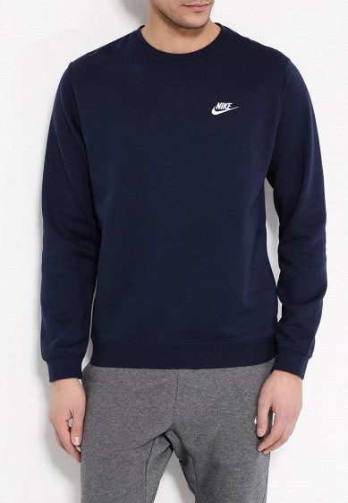 Купить Свитшот Nike - цвет: синий, Китай, NI464EMPKO37