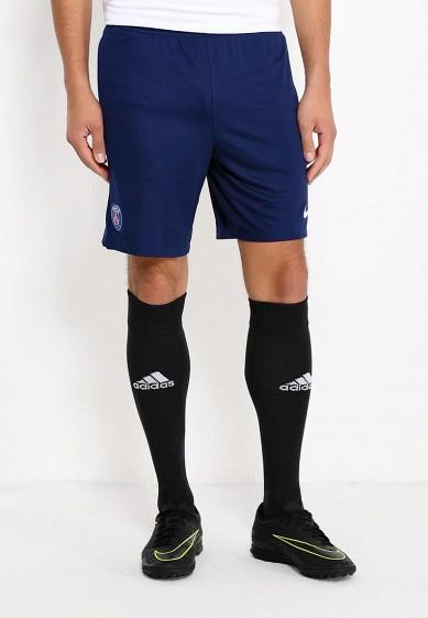 Шорты спортивные Nike - цвет: синий, Индонезия, NI464EMRZA28  - купить со скидкой