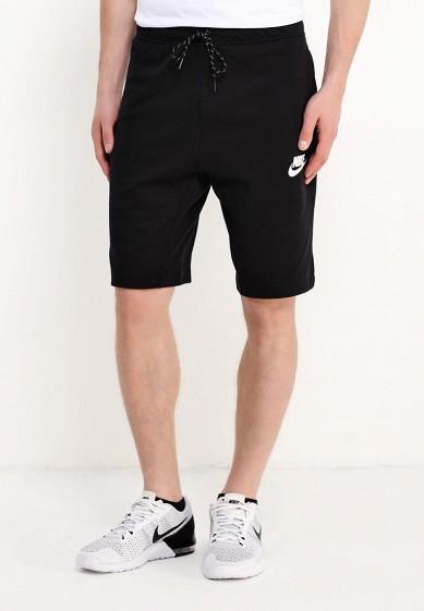 Купить Шорты спортивные Nike - цвет: черный, Камбоджа, NI464EMUGQ48
