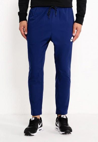 Купить Брюки спортивные Nike - цвет: синий, Китай, NI464EMUGQ59