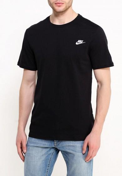 Купить Футболка Nike - цвет: черный, Турция, NI464EMUGS46