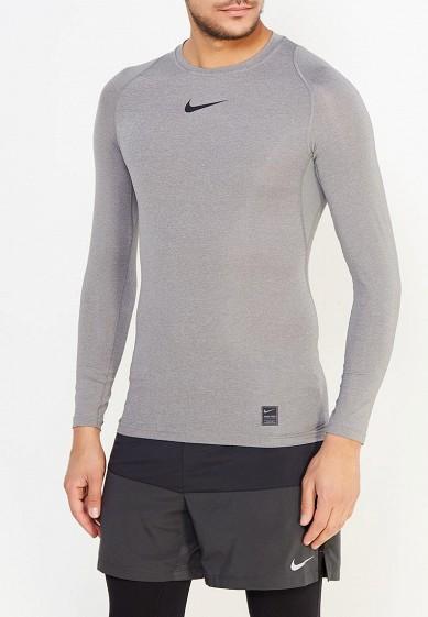 Купить Лонгслив компрессионный Nike - цвет: серый, Шри-Ланка, NI464EMUGU42