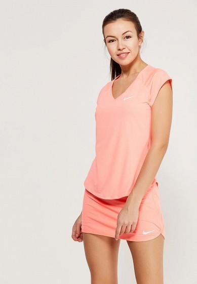 Купить Футболка спортивная Nike - цвет: коралловый Вьетнам NI464EWAADQ2