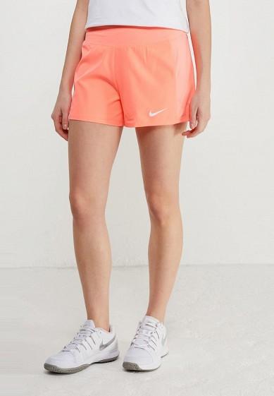 Купить Шорты спортивные Nike - цвет: коралловый Камбоджа NI464EWAADS1