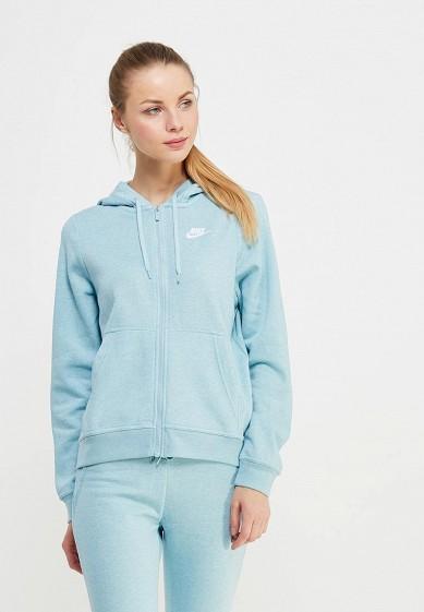 Купить Толстовка Nike - цвет: голубой, Пакистан, NI464EWAADT9