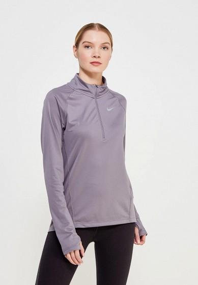 Купить Лонгслив спортивный Nike - цвет: серый Таиланд NI464EWAADU4