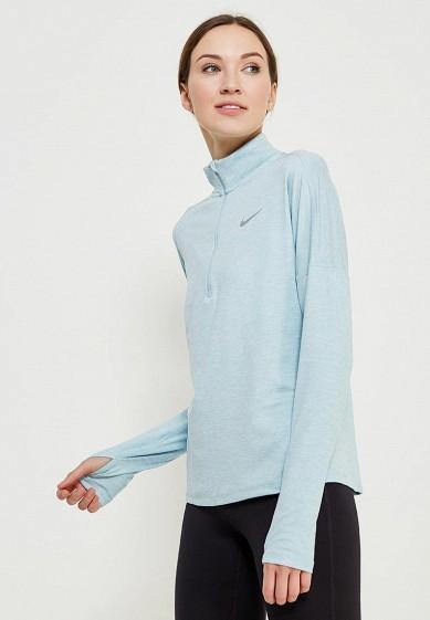 Купить Лонгслив спортивный Nike - цвет: голубой, Шри-Ланка, NI464EWAADU9