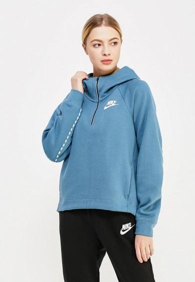 Купить Худи Nike - цвет: синий, Китай, NI464EWAAEG7