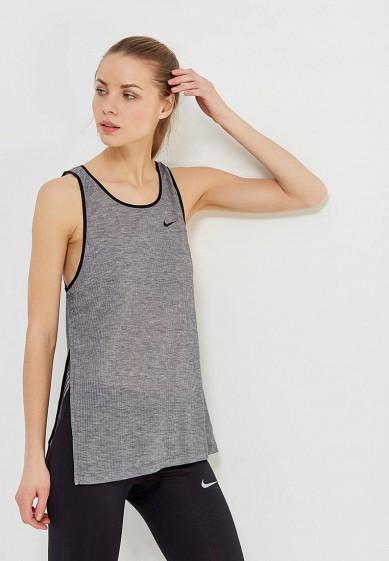 Купить Майка спортивная Nike - цвет: серый, Таиланд, NI464EWAAEM0