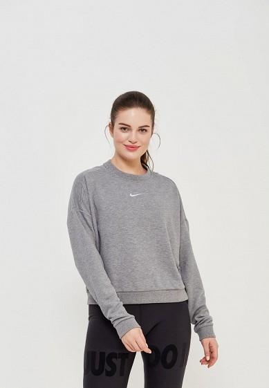 Свитшот Nike - цвет: серый, Китай, NI464EWAAEN3  - купить со скидкой