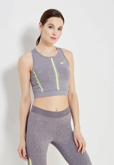 Купить Топ спортивный Nike - цвет: серый, Шри-Ланка, NI464EWAAES3