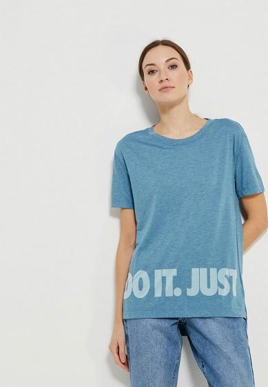 Купить Футболка Nike - цвет: синий, Китай, NI464EWAAFA9