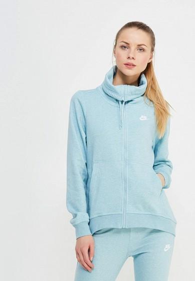 Купить Толстовка Nike - цвет: голубой, Пакистан, NI464EWAAFC8