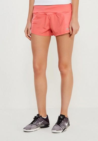 Купить Шорты спортивные Nike - цвет: коралловый Малайзия NI464EWAAFE0