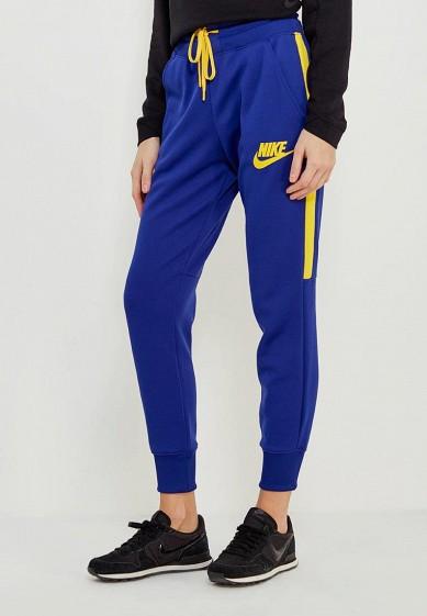 Купить Брюки спортивные Nike - цвет: синий, Вьетнам, NI464EWAAFH5