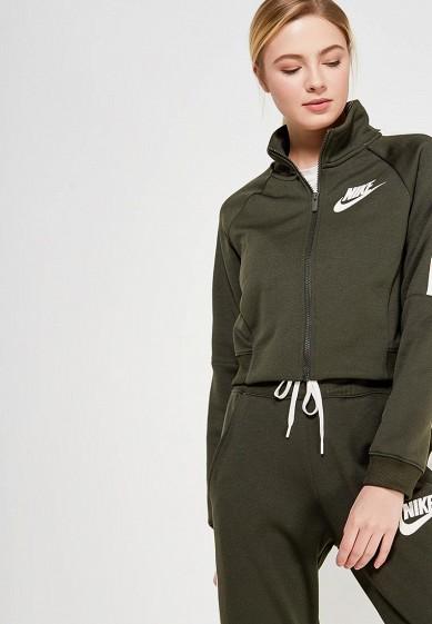 Купить Олимпийка Nike - цвет: хаки, Китай, NI464EWAAFH8