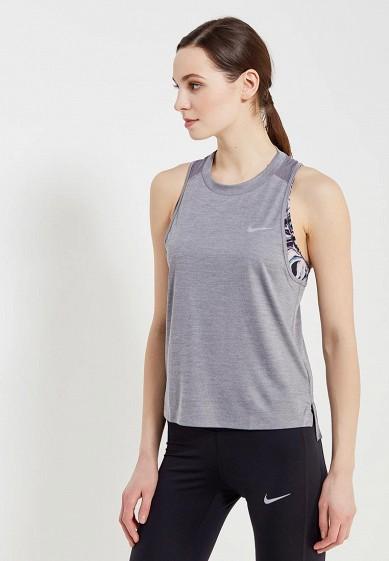 Купить Майка спортивная Nike - цвет: серый, Камбоджа, NI464EWAAGE1