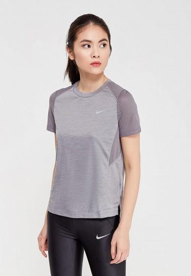 Купить Футболка спортивная Nike - цвет: серый, Камбоджа, NI464EWAAGE4