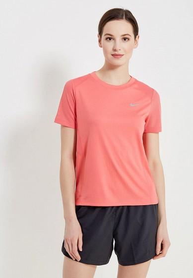 Купить Футболка спортивная Nike - цвет: коралловый, Камбоджа, NI464EWAAGE7