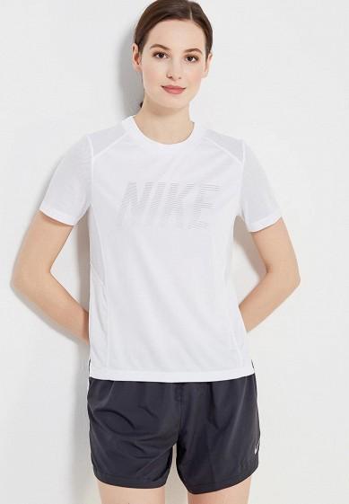 Купить Футболка спортивная Nike - цвет: белый, Камбоджа, NI464EWAAGG3