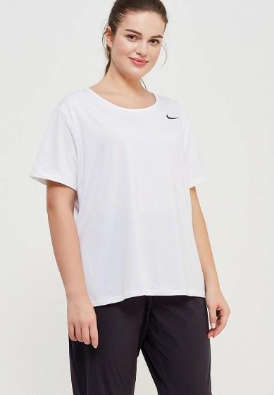 Купить Футболка спортивная Nike - цвет: белый, Шри-Ланка, NI464EWAAGK5