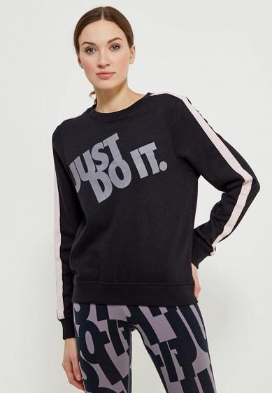 Купить Свитшот Nike - цвет: черный, Камбоджа, NI464EWAAGZ6