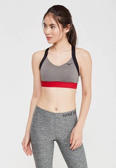 Купить Топ спортивный Nike - цвет: серый, Шри-Ланка, NI464EWAAHA8