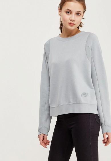 Купить Свитшот Nike - цвет: серый, Камбоджа, NI464EWAAHB6