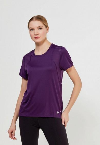Купить Футболка спортивная Nike - цвет: фиолетовый Шри-Ланка NI464EWAAHF0