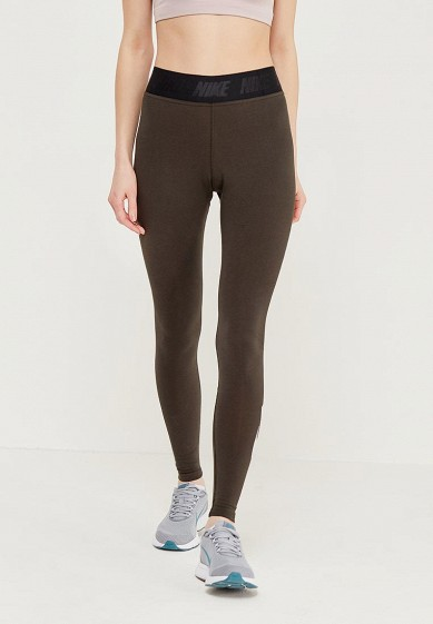 Купить Леггинсы Nike - цвет: хаки, Китай, NI464EWAAHG0