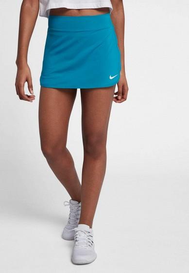 Купить Юбка-шорты Nike - цвет: бирюзовый, Камбоджа, NI464EWBBKC1