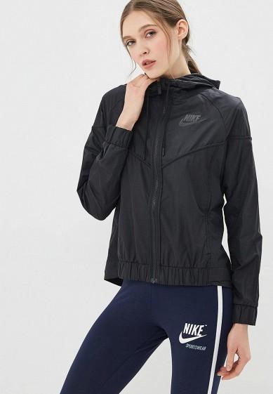 Купить Ветровка Nike - цвет: черный, Вьетнам, NI464EWBBKE4