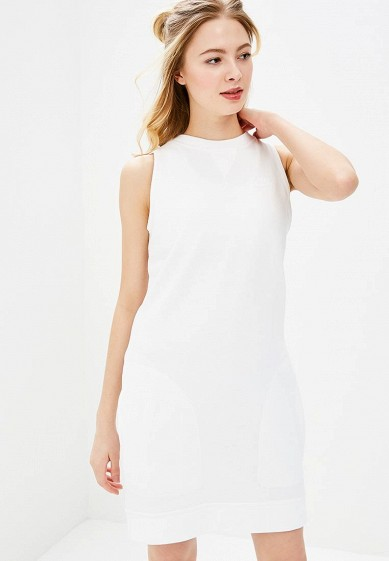 Купить Платье Nike - цвет: белый, Пакистан, NI464EWBBKJ5