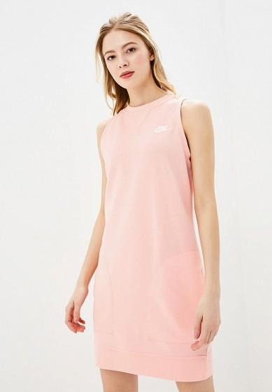Купить Платье Nike - цвет: розовый, Пакистан, NI464EWBBKJ6