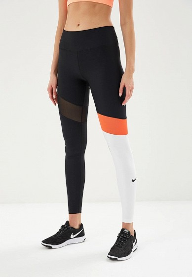 Купить Тайтсы Nike - цвет: черный, Шри-Ланка, NI464EWBBKS2
