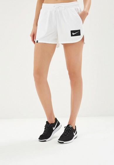 Купить Шорты спортивные Nike - цвет: белый, Вьетнам, NI464EWBBKT1