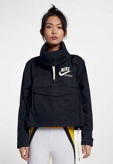 Купить Ветровка Nike - цвет: черный, Вьетнам, NI464EWBBKX8