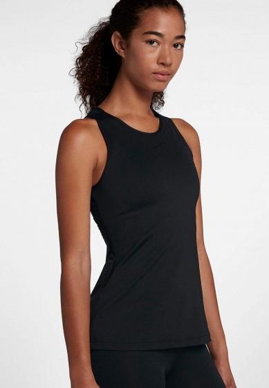 Майка спортивная Nike - цвет: черный, Шри-Ланка, NI464EWBBKY8  - купить со скидкой