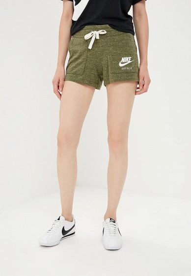 Купить Шорты спортивные Nike - цвет: хаки, Камбоджа, NI464EWBWIY9