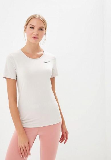 Купить Футболка спортивная Nike - цвет: бежевый, Шри-Ланка, NI464EWBWIZ7